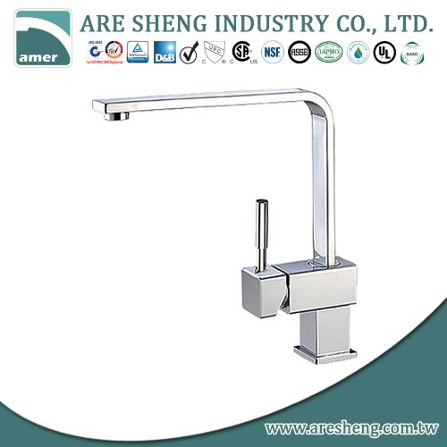 Modern style single hole kitchen taps #D01-005
