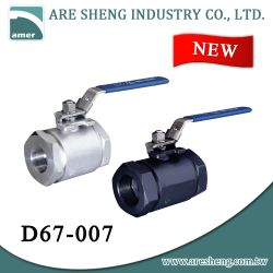 3000 PSI / 6000 PSI High pressure ball valve