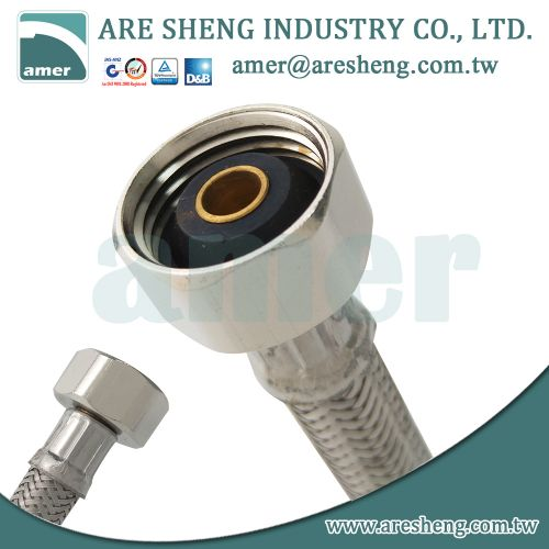 basin faucet stainless steel water supply tube