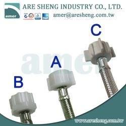 1/2 FIP to 7/8BC toilet tank water connector