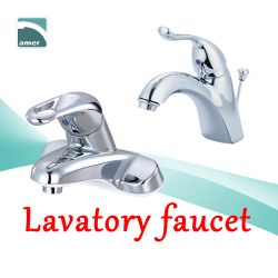 Various bathroom and lavatory faucet in different styles like single lever faucet, two handle faucet, wall mount faucet, deck mount faucet, mixer tap from Are Sheng
