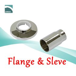 Faucet flange and sleeve for replacement- Are Sheng