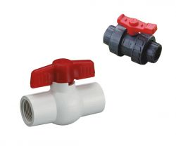 PVC ball valves and check valve and butterfly valve –Are Sheng