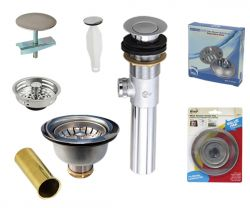 Plumbing tools including sink strainer, PO plug, tub stopper - drainage kits –Are Sheng
