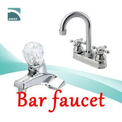 Various bar faucet in different styles like bar faucet chrome, bar faucet brushed nickel, bar faucet with sprayer from Are Sheng
