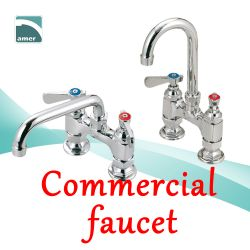 Heavy duty and durable commercial faucet from Are Sheng