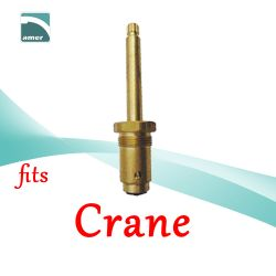 Fits Crane replacement plastic or metal stem and cartridge –Are Sheng