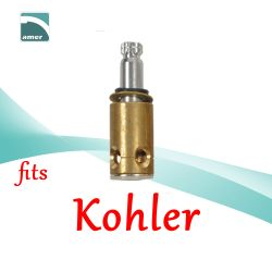 Fits Kohler replacement plastic or metal stem and cartridge –Are Sheng