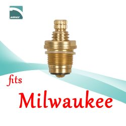 Fits Milwaukee replacement plastic or metal stem and cartridge –Are Sheng