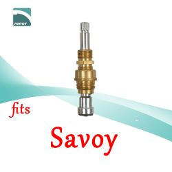 Fits Savoy replacement plastic or metal stem and cartridge –Are Sheng