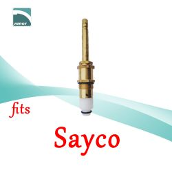 Fits Sayco replacement plastic or metal stem and cartridge –Are Sheng