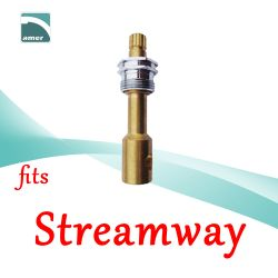 Fits Streamway replacement plastic or metal stem and cartridge –Are Sheng