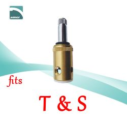 Fits T & S replacement plastic or metal stem and cartridge –Are Sheng