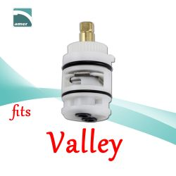 Fits Valley replacement plastic or metal stem and cartridge –Are Sheng