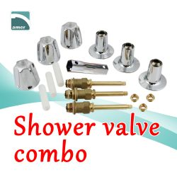 Shower valve combo and faucet replacement parts- Are Sheng