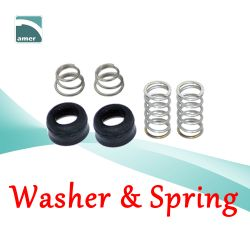 Washer and spring and other faucet replacement parts- Are Sheng