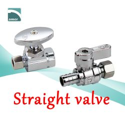 Brass straight valves and angle valves –Are Sheng