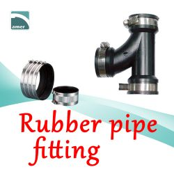 Rubber pipe fitting and flexible coupling – Are Sheng